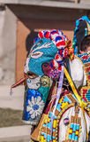 Colorful costumes and masks Royalty Free Stock Photography
