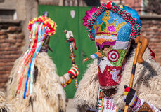 Colorful costumes and masks Royalty Free Stock Image