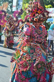 Colorful Costumes in The Street Performance Royalty Free Stock Photo