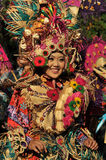 Colorful Costumes in The Street Performance Royalty Free Stock Photography