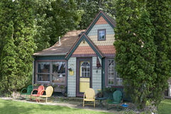 Colorful Cottage stock photos