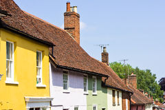 Colorful cottages Royalty Free Stock Photos