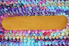 Colorful cotton. Stock Image
