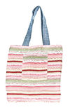 Colorful cotton bag Stock Image