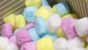 Free Colorful Cotton Balls Royalty Free Stock Photo - 50570515