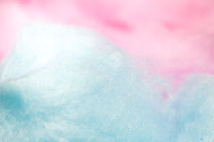 Colorful cotton candy in soft color for background Royalty Free Stock Images