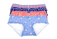 Colorful Cotton Panties Royalty Free Stock Images