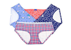 Colorful Cotton Panties Royalty Free Stock Photo