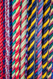 Colorful Cotton Rope Lead Lines for Horses Stock Photography