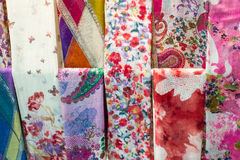 Colorful Cotton Scarf Royalty Free Stock Images