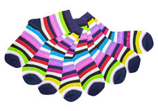 Colorful cotton socks Stock Image