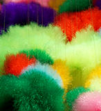 Colorful cotton in soft color for background Stock Image
