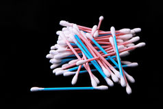 Colorful Cotton swabs Royalty Free Stock Photo