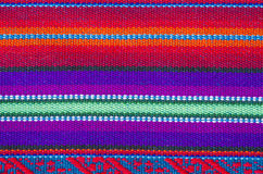 Colorful Cotton Table Cloth Textures #1 Stock Image