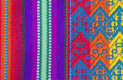 Colorful Cotton Table Cloth Textures #2 Stock Photo