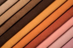 Colorful cotton textile Stock Photography