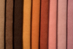 Colorful cotton textile Royalty Free Stock Images