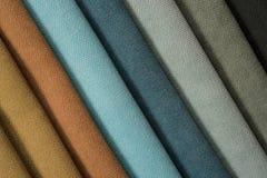 Colorful cotton textile Stock Photo