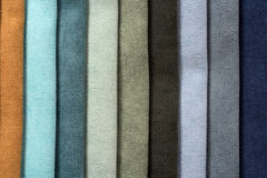 Colorful cotton textile Royalty Free Stock Photo