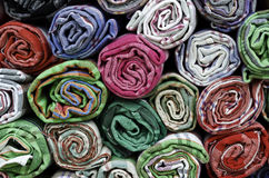 Colorful cotton towels Royalty Free Stock Images