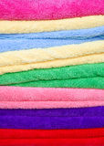 Colorful cotton towels Royalty Free Stock Photography