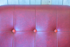 Colorful of couch leather. Stock Photography