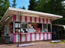 Colorful Country Ice Cream Stand Stock Photos