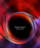Colorful cover design Royalty Free Stock Photos