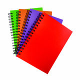 Colorful cover of notebook Stock Photo