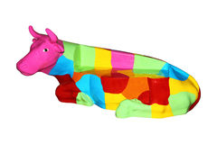 Colorful cow Royalty Free Stock Photo
