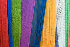 Colorful cradle net Stock Photos