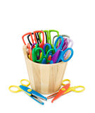 Colorful Crafts Scissors Royalty Free Stock Images