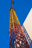 Colorful crane stock photography
