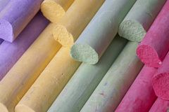 Colorful crayon Stock Photography