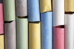 Colorful crayon Stock Photos