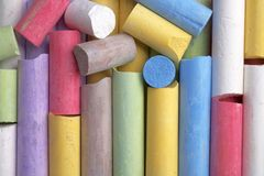 Colorful crayon Royalty Free Stock Photography
