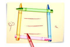 Colorful Crayon Stock Photos