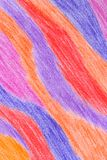 Colorful crayon abstract background Stock Photo