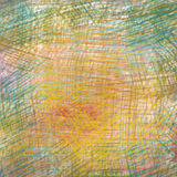 Colorful crayon drawings Royalty Free Stock Photography
