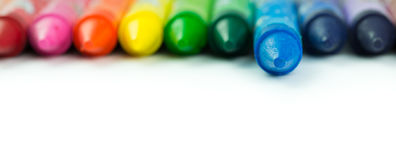 Colorful crayon Royalty Free Stock Photos