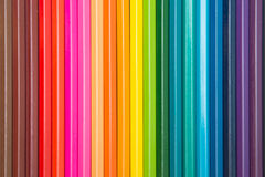 Colorful of crayon wood Royalty Free Stock Image