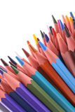 Colorful crayons Royalty Free Stock Image