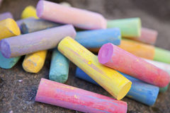 Colorful crayons Royalty Free Stock Photo