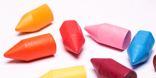 Colorful crayons Stock Photo