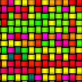 Colorful crazy bright green yellow red modern texture Stock Images