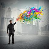 Colorful and creative business Royalty Free Stock Images