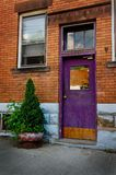 A colorful and creative doorway Royalty Free Stock Photos