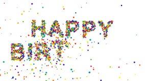 Colorful creative Happy Birthday card design