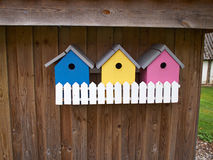 Colorful creative nesting boxes Royalty Free Stock Images