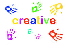 Colorful creativity concept stock images